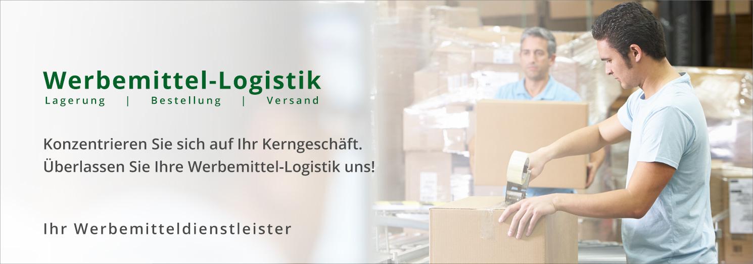 Werbemittel-Logistik